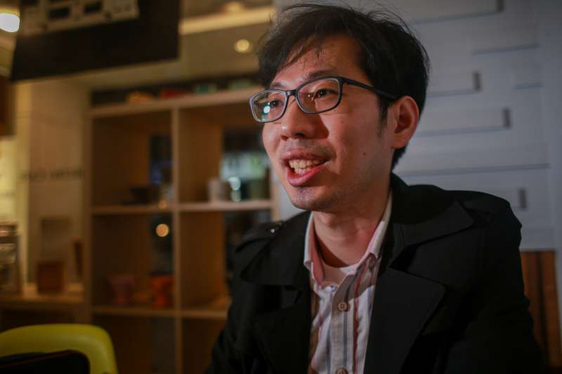 20190412-專訪,無國界醫療展導覽人/醫師姜冠宇。(簡必丞攝)