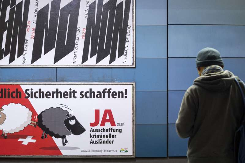 瑞士聯邦最高法院判決,2016年2月針對該國稅制不公的公投結果無效。(美聯社)