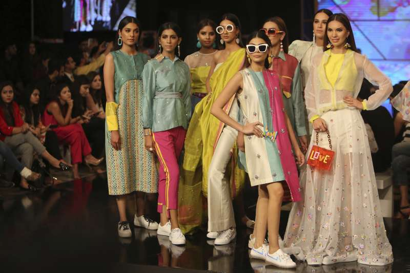 巴基斯坦時裝周(AP)