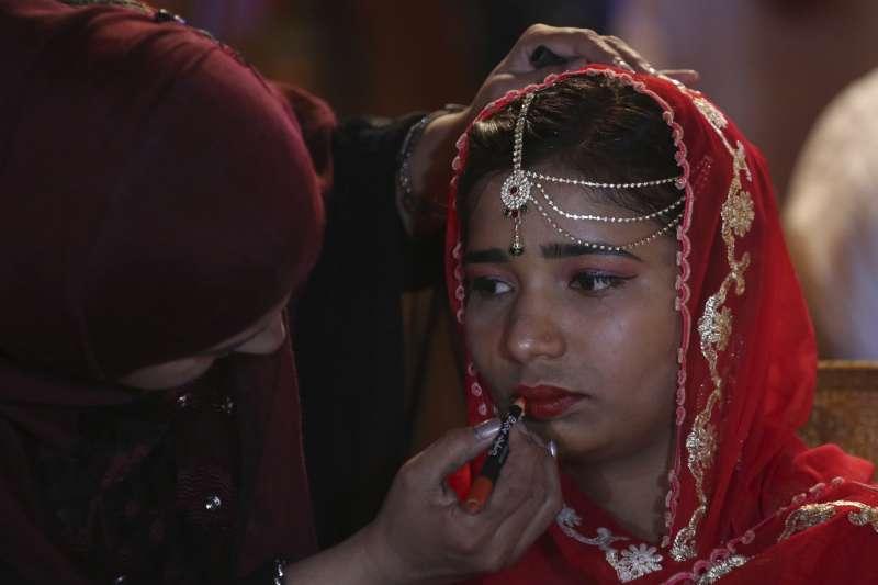 巴基斯坦女性(AP)