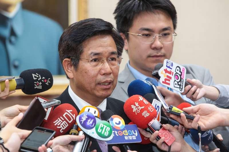 20190415-教育部長潘文忠15日出席立院教育委員會。(顏麟宇攝)