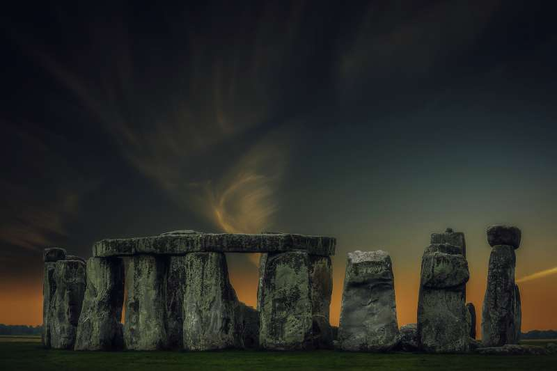 英國最著名的史前遺跡「巨石陣」(取自Pixabay)