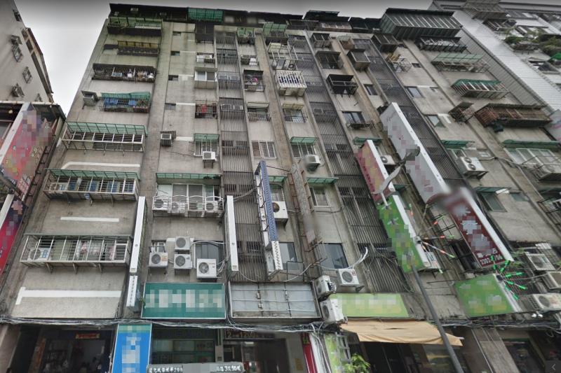 萬華龍山寺商圈兩棟老大樓,默默轉手賺一筆。(圖/取自google地圖)