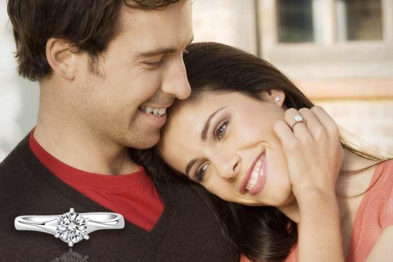 圖三、AMC的專業切工比例,是鑽戒耀眼奪目的關鍵(圖/AMC鑽石婚戒)