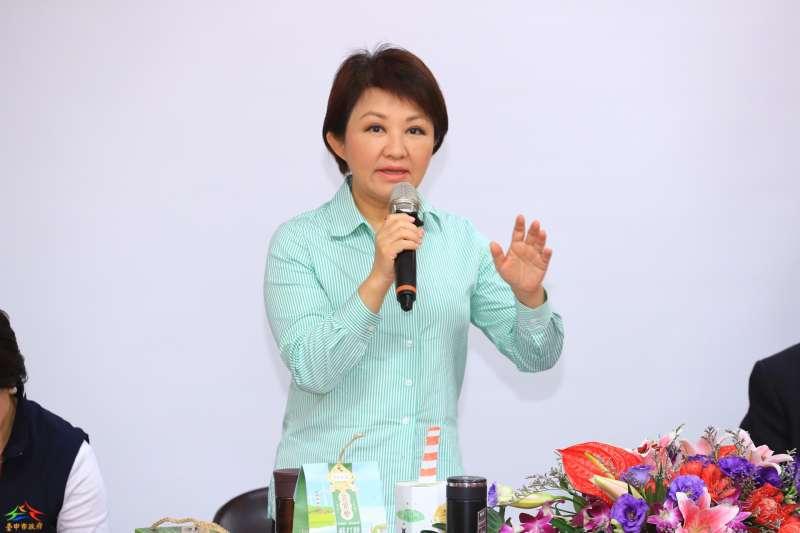 針對南投縣將提告中火,台中市長盧秀燕表示不排除跟進。(台中市政府提供)