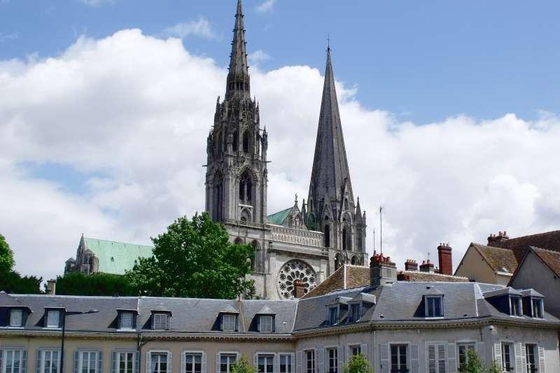 聖母院的哥德式尖塔。(Elliott Brown@flickr CC BY 2.0)