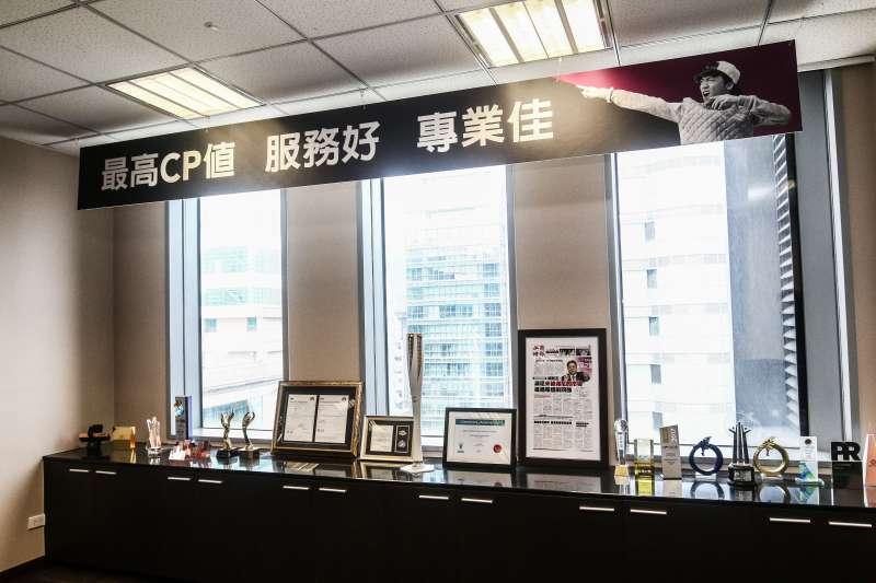20190417-台灣之星總經理賴弦五17日接受專訪,圖為台灣之星內部場景。(蔡親傑攝)