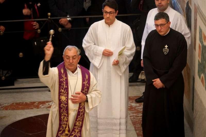 羅馬教區代理主教德·多那提斯樞機祝聖(曾廣儀攝)