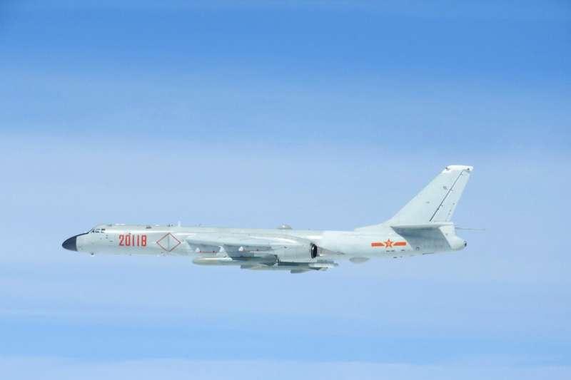 解放軍的轟-6轟炸機。(美聯社)