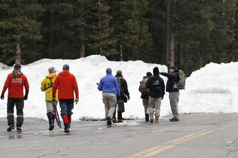 派絲陳屍的地點距離人煙罕至,他們研判派絲要徒步走過800公尺的雪地,當時積雪深度達120公分。(美聯社)