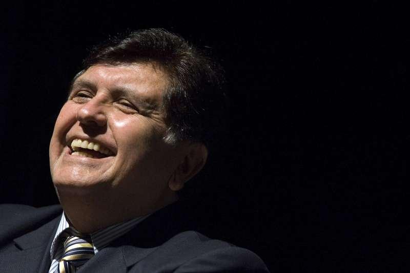 2019年4月17日,涉貪的秘魯前總統賈西亞(Alan García)開槍自殺(AP)