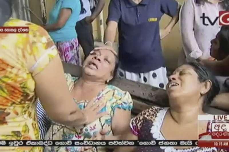 2019年4月21日,印度洋島國斯里蘭卡爆發恐怖攻擊,造成慘重死傷(AP)