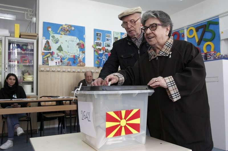 北馬其頓總統大選(AP)