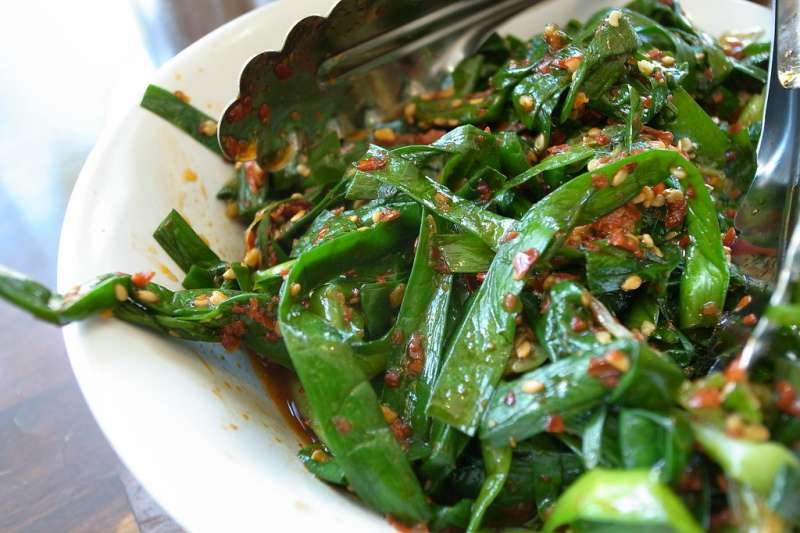 別再閒韭菜很臭啦!(圖/flickr)