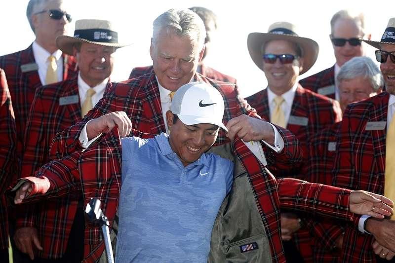 潘政琮今天成功奪下生涯首座PGA冠軍。