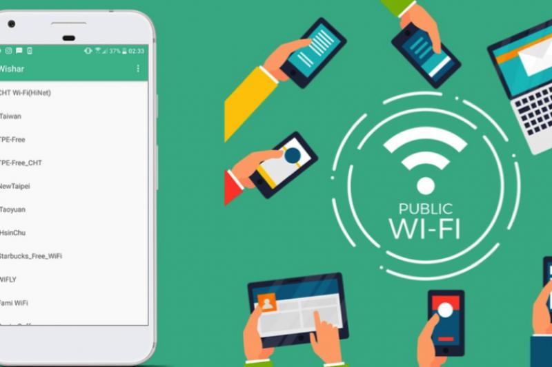 全台約有10萬個公共Wi-Fi熱點,但使用上並沒有很普及,登入過程也不太順暢。(圖片提供:Whisr app)