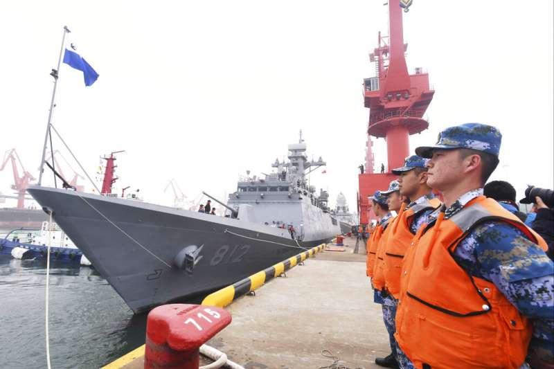南韓海軍仁川級巡防艦「京畿道號」。(美聯社)