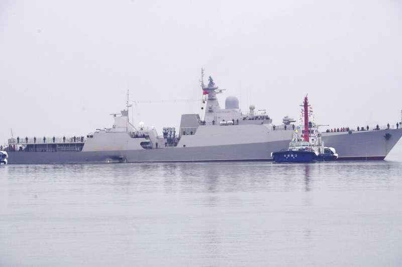 越南海軍獵豹級護衛艦「陳興道號」。(美聯社)