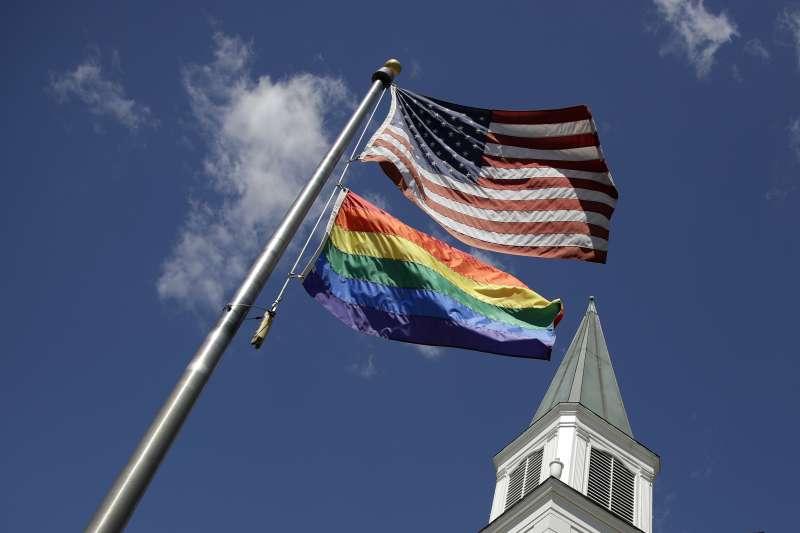 美國總統大選:拜登獲LGBT選民青睞。(AP)
