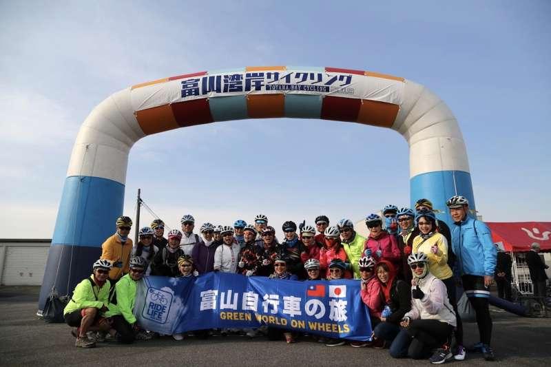 劉麗珠、杜綉珍領團參加日本富山灣自行車節(圖/捷安特)