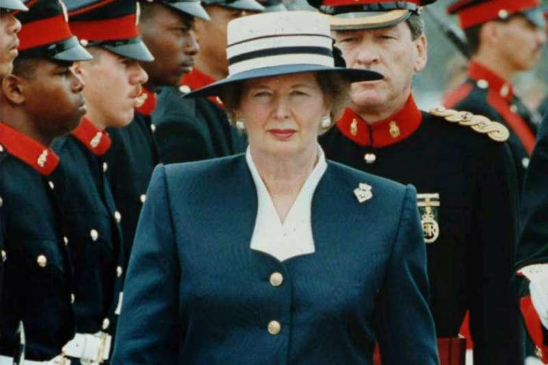 柴契爾夫人沒當過兵,卻帶領英國打贏戰爭。(圖/維基百科)