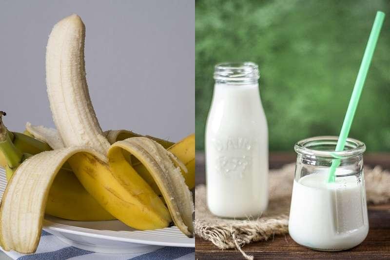 吃香蕉、喝牛奶真的能抗憂鬱嗎?(圖/pixabay)