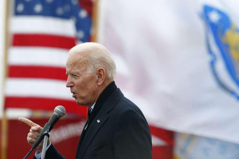2019年4月25日,美國前副總統拜登正式宣布參選2020美國總統大選。(AP)