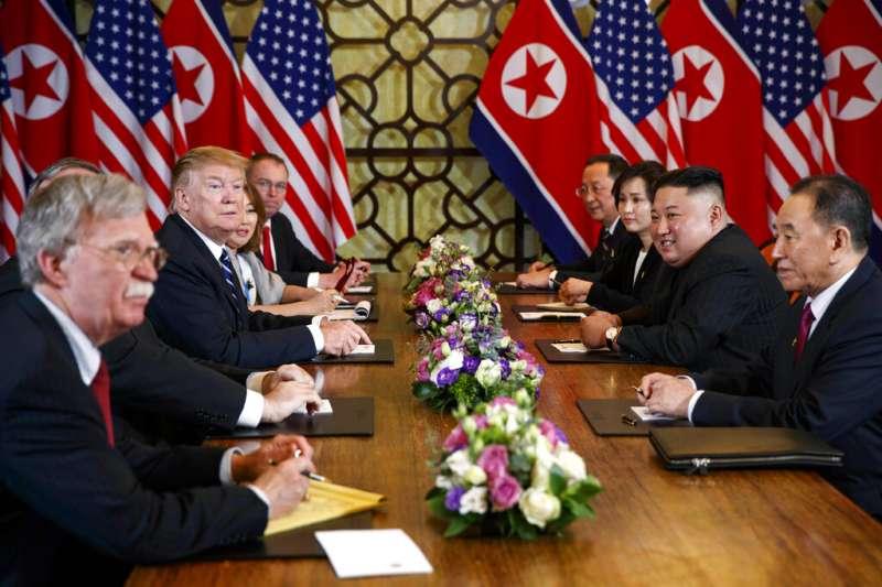 河內川金會破局後,至今北韓無核化仍毫無進展。(美聯社)