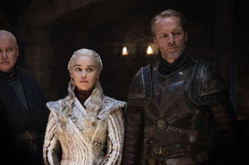 《冰與火之歌:權力遊戲》(Game of Thrones)第8季劇照(AP)