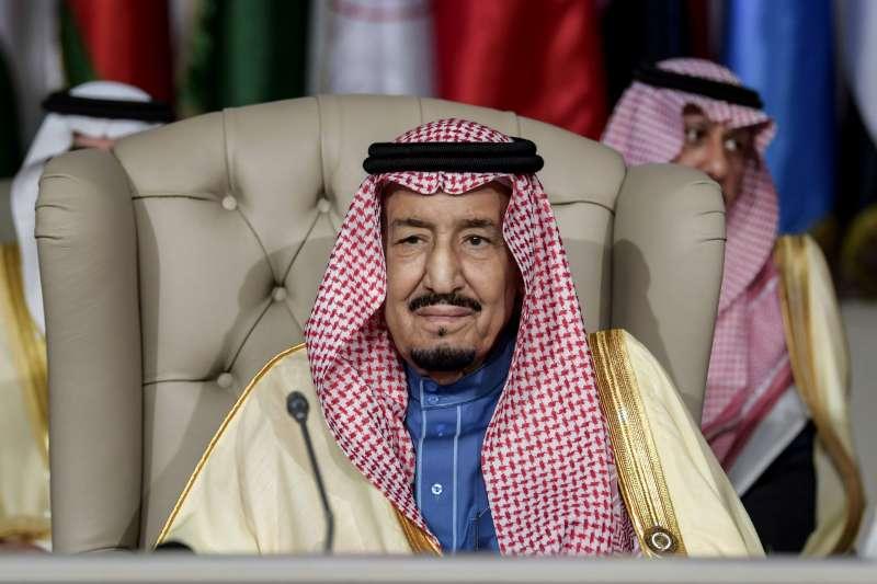 沙烏地阿拉伯國王薩勒曼(King Salman)(AP)