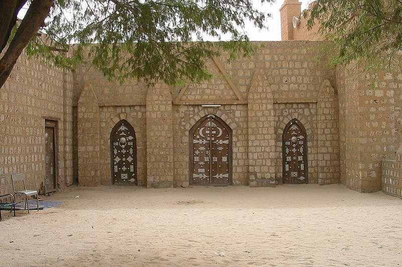 Sidi Yehia清真寺的門。(KaTeznik∕維基百科)