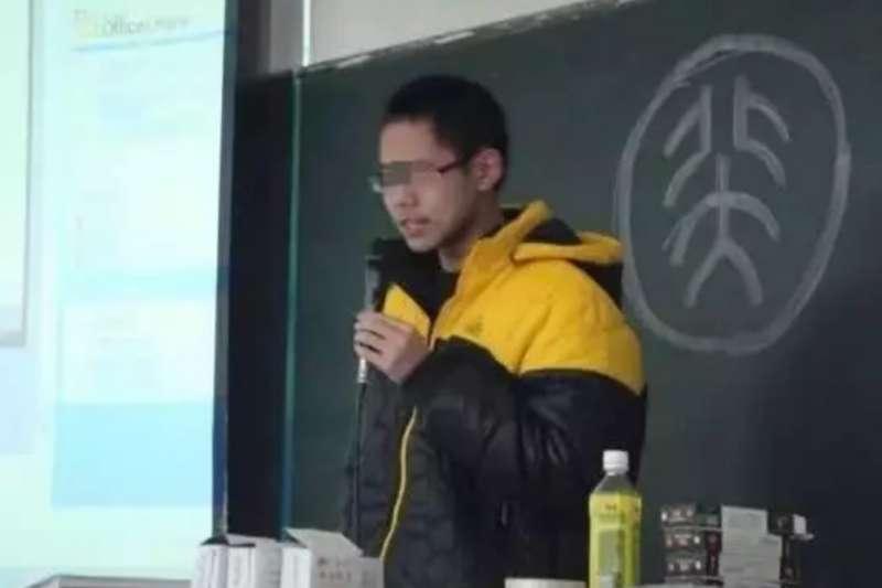 吳謝宇分享北大自主招生考試和高考複習的經驗(網路截圖)