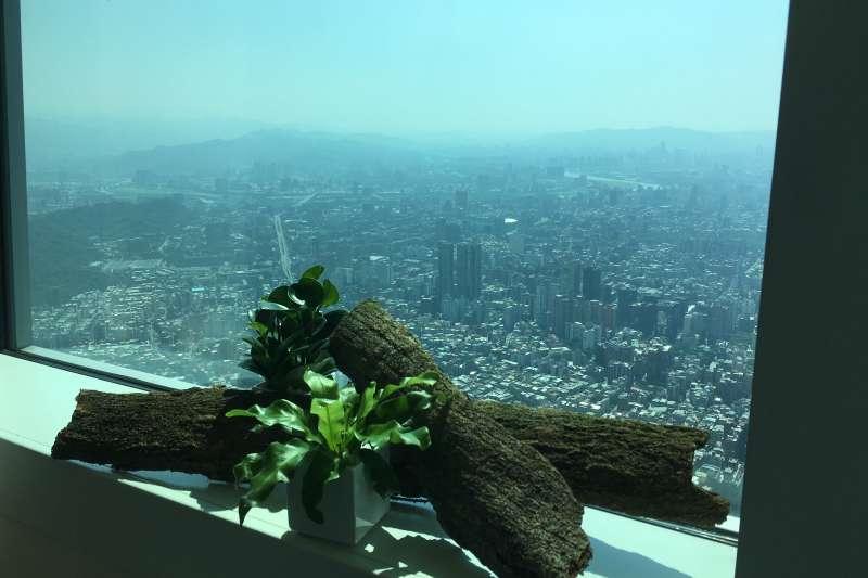 台北101樓的美景,等你來享受!(圖/風傳媒攝)