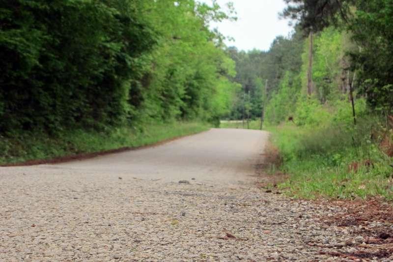 1998年6月美國德州種族主義仇恨犯罪受害者伯德(James Byrd Jr.)被小卡車拖行至死的道路(AP)