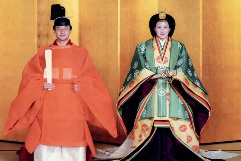 德仁親王與雅子妃在1993年成婚。(美聯社)