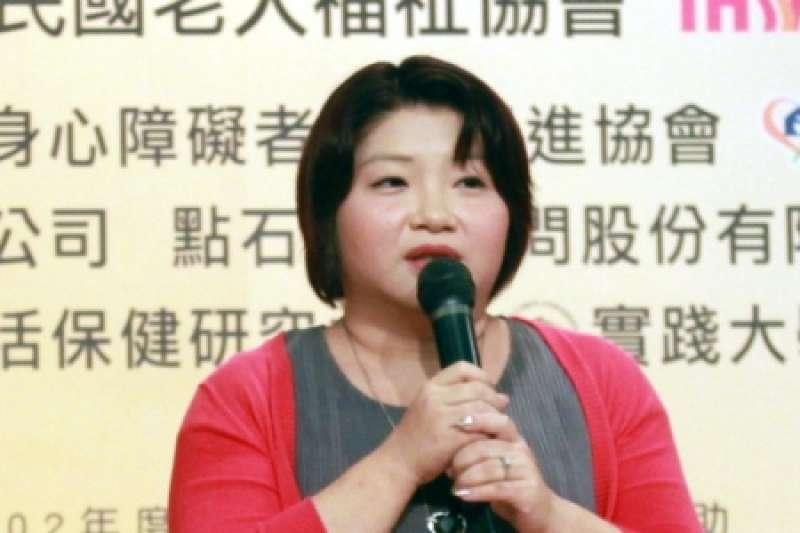 20190428-重新上傳-社團法人台灣居家服務策略聯盟理事長涂心寧。(取自中華民國老人福祉協會)