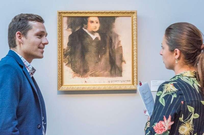 這幅高價拍賣成交的肖像畫是電腦合成的。它算得上是藝術品嗎?(BBC中文網)