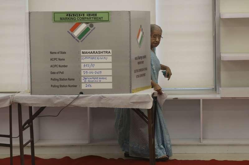 印度第17屆國會下議院大選4月11日開始,共歷時38天(AP)