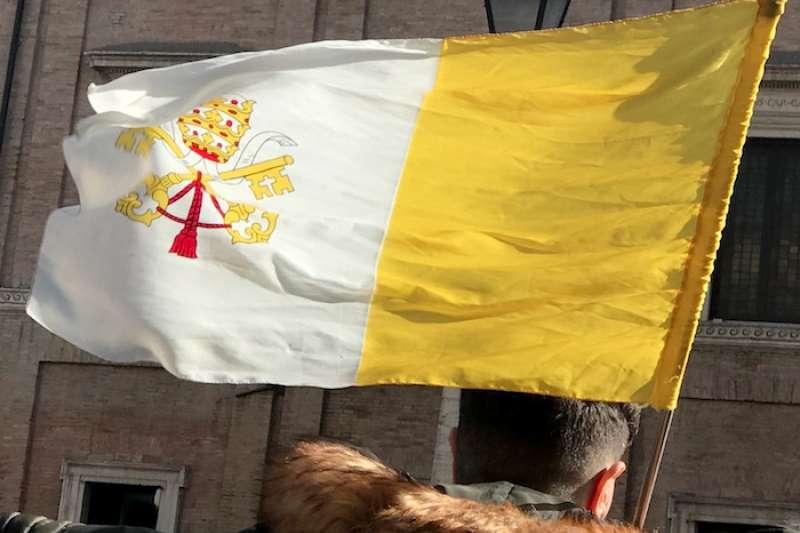 聖座國旗(曾廣儀攝)