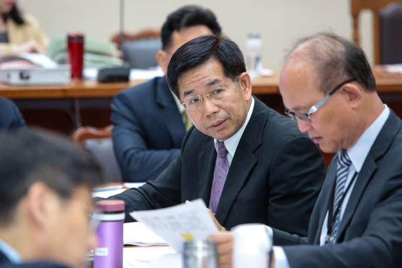 20190429-教育部長潘文忠29日出席教育委員會審查教師法。(顏麟宇攝)