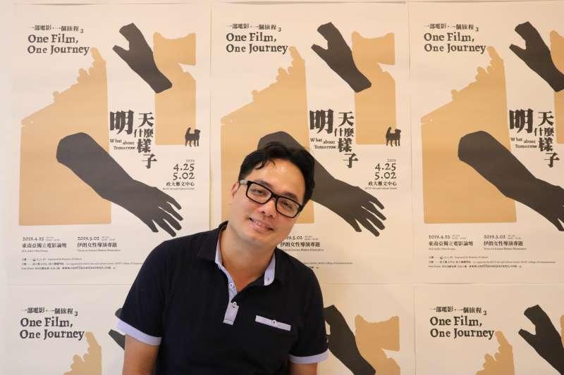 越南導演潘燈貽(Pang Dang Di)。(蔡娪嫣攝)