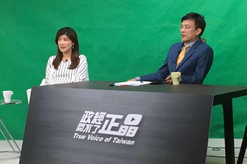 彭文正、李晶玉主持新節目《政經關不了》,自5月1日晚上8時在Youtube首播。(取自彭文正臉書)