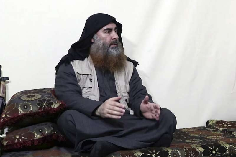 伊斯蘭國首腦巴格達迪神隱5年後再次露面(AP)