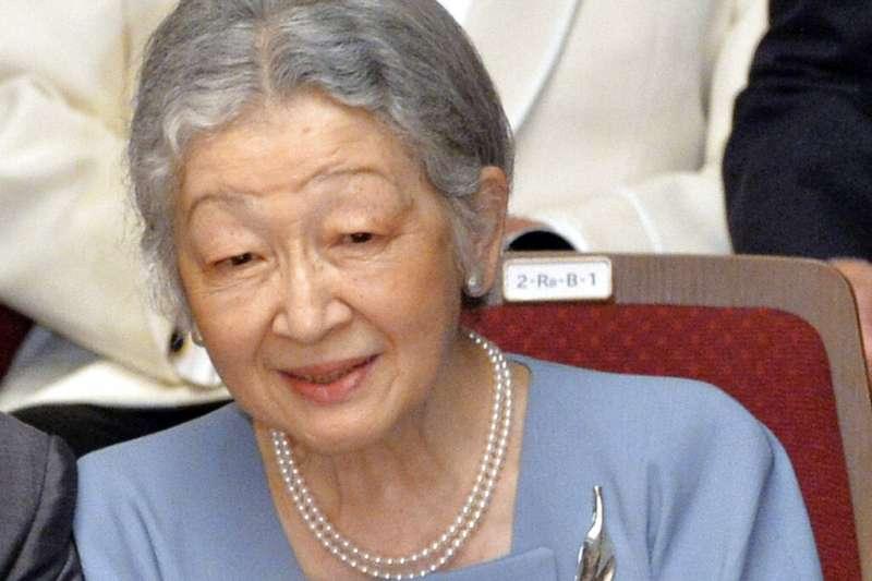 日本上皇后美智子。(美聯社)