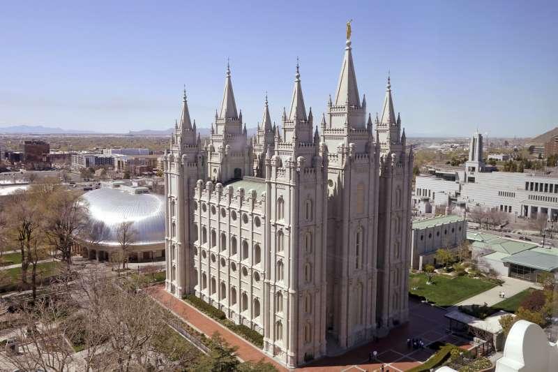 俗稱「摩門教」的「耶穌基督後期聖徒教會」總部(AP)