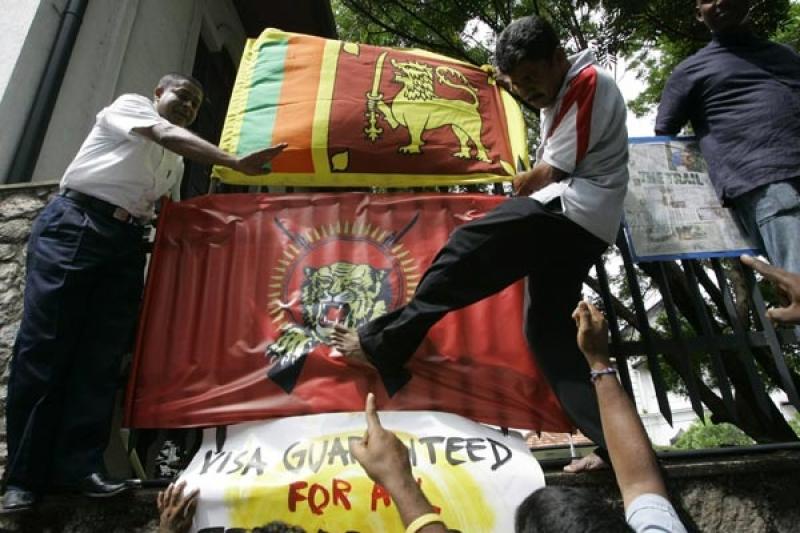 泰米爾之虎與斯里蘭卡政府簽訂和平協議,最終仍躲不過被殲滅的命運(資料照,AP)
