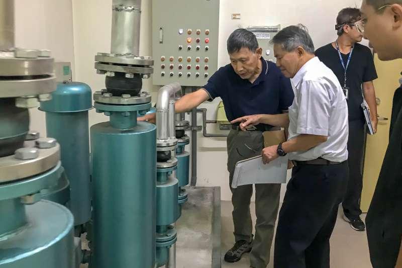 台中市環保局提供社區污水免費檢查。(圖/臺中市政府提供)
