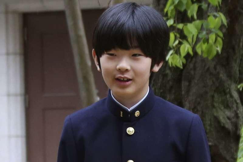 日本悠仁親王(AP)