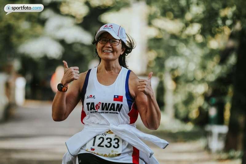 第七屆塔圖馬拉松是謝幸吟的第一場海外賽,他也跑出個人最佳半馬2小時31分。(圖/謝幸吟提供)