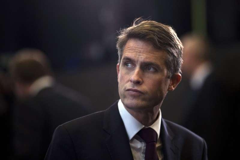 英國前國防大臣威廉森(Gavin Williamson)(AP)